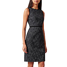 Buy Hobbs Natalie Dress, Navy/Multi Online at johnlewis.com