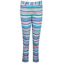Buy Pure Collection Tile Print Capri Trousers, Multi Online at johnlewis.com
