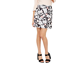 Buy Miss Selfridge A-Line Ruffle Skirt, Multi/Black Online at johnlewis.com