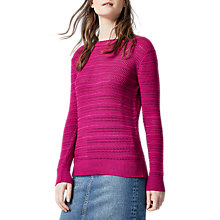 Buy Warehouse Stitchy Open Back Jumper Online at johnlewis.com