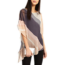 Buy Phase Eight Harper Print Asymmetric Blouse, Multi Online at johnlewis.com