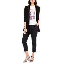 Buy Miss Selfridge Rouched Sleeve Blazer Online at johnlewis.com