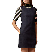 Buy Hobbs Delany Dress, Indigo Online at johnlewis.com