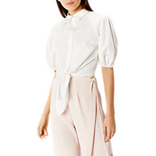 Buy Coast Quinn Shirt, Ivory Online at johnlewis.com