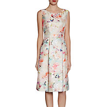 Buy Gina Bacconi Jacquard Dress Spring Blossom Online at johnlewis.com