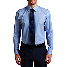 Buy HUGO by Hugo Boss C-Eenzo Mini Gingham Regular Fit Shirt, Light Blue Online at johnlewis.com
