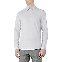 Buy Reiss Shane Cotton Linen Slim Fit Shirt Online at johnlewis.com