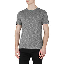 Buy Reiss Peaky Patterned T-Shirt, Grey Online at johnlewis.com