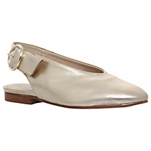 Buy Carvela Luna Slingback Pumps, Gold Online at johnlewis.com