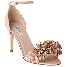 Buy L.K. Bennett Claudie Ruffle Stiletto Sandals Online at johnlewis.com