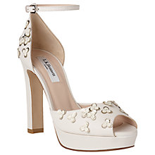 Buy L.K. Bennett Luce Block Heeled Platform Sandals, Multi Online at johnlewis.com