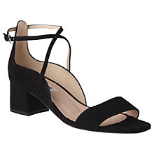 Buy L.K. Bennett Dina Cross Strap Sandals Online at johnlewis.com