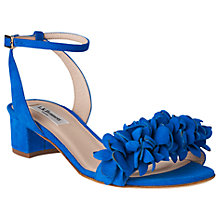Buy L.K. Bennett Coralie Flower Ruffle Sandals Online at johnlewis.com