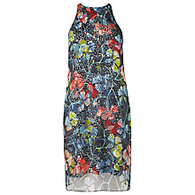 Buy L.K. Bennett Carmel Print Silk Dress, Multi Online at johnlewis.com