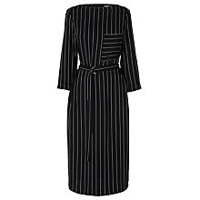 Buy L.K. Bennett Caralyn Wide Stripe Dress, Black Online at johnlewis.com