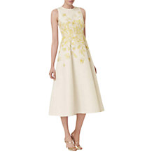 Buy L.K. Bennett Corin Embroidered Dress, Cream Online at johnlewis.com