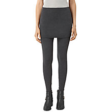 Buy AllSaints Raffi Leggings, Charcoal Online at johnlewis.com