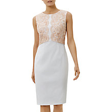 Buy Fenn Wright Manson Crete Dress, Peach Online at johnlewis.com