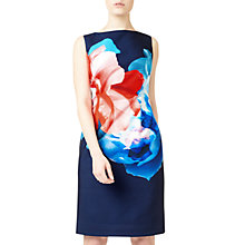Buy Precis Petite Maggie Placement Dress, Multi/Navy Online at johnlewis.com