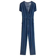 Buy Gerard Darel Plume Jumpsuit, Blue Jeans Online at johnlewis.com