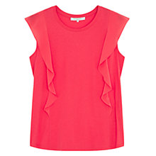 Buy Gerard Darel Thea Ruffle Detail T-Shirt Online at johnlewis.com