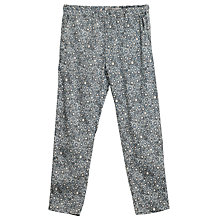 Buy Wheat Girls' Sonia Printed Trousers, Blue/Multi Online at johnlewis.com