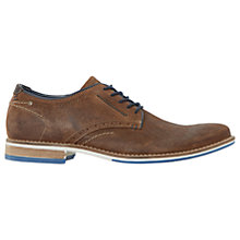 Buy Dune Brewer Gibson Suede Shoes, Tan Suede Online at johnlewis.com