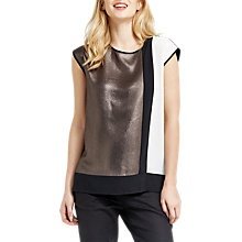 Buy Oasis Patched Metallic T-Shirt, Multi Online at johnlewis.com