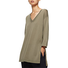 Buy Jigsaw Silk Back Tunic Top Online at johnlewis.com