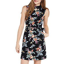 Buy Oasis Violet Print Texture Dress, Multi Online at johnlewis.com