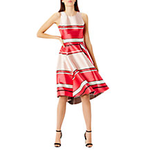 Buy Coast Bayshore Stripe Dress, Pink Online at johnlewis.com