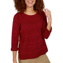 Buy Fat Face Paige Pointelle Jumper Online at johnlewis.com