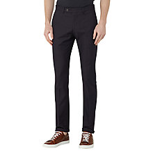 Buy Reiss Trump Textured Tailored Trousers, Navy Online at johnlewis.com