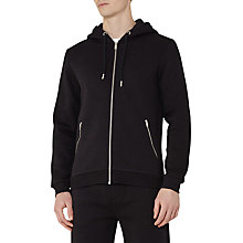 Buy Reiss Avery Full Zip Hoodie, Navy Online at johnlewis.com