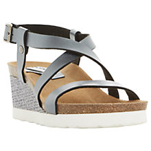 Buy Dune Katya Wedge Heeled Sandals Online at johnlewis.com