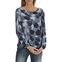 Buy Betty & Co. Printed Top, Dark Blue Online at johnlewis.com