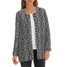 Buy Betty Barclay Textured Woven Coat, Dark Blue/Grey Online at johnlewis.com