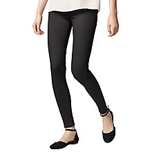 Buy Warehouse Powerhold Skinny Jeans, Black Online at johnlewis.com