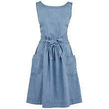 Buy Fat Face Angie Dress, Chambray Online at johnlewis.com