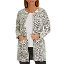 Buy Betty Barclay Textured Woven Jacket, Dark Blue/Grey Online at johnlewis.com