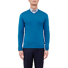 Buy Ted Baker T for Tall Altertt Silk Blend V-Neck Jumper Online at johnlewis.com