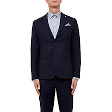 Buy Ted Baker T for Tall Jampot Modern Fit Textured Blazer, Navy Online at johnlewis.com