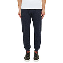 Buy Ted Baker Thurtee Jersey Cuffed Trousers, Navy Online at johnlewis.com