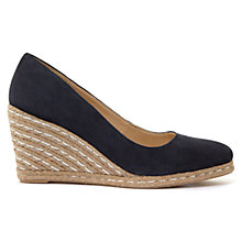 Buy Mint Velvet Grace Wedge Heeled Court Shoes Online at johnlewis.com