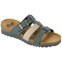 Buy Scholl Kalea Triple Strap Sandals, Grey Mixed Online at johnlewis.com