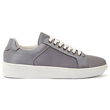 Buy Mint Velvet Sandy Lace Up Trainers, Grey Online at johnlewis.com