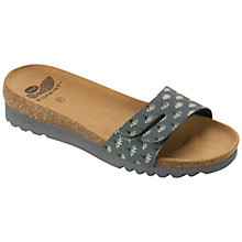 Buy Scholl Lunwin Thin Strap Mule Sandals, Dark Grey Online at johnlewis.com
