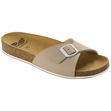 Buy Scholl Spikey Mule Sandals, Beige/White Online at johnlewis.com