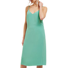 Buy Jaeger Strap Detail Slip Dress, Green Online at johnlewis.com