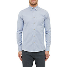 Buy Ted Baker Siminn Cotton Oxford Shirt, Blue Online at johnlewis.com